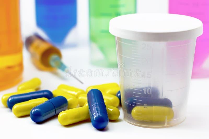 φάρμακα αρκετά στοκ φωτογραφία