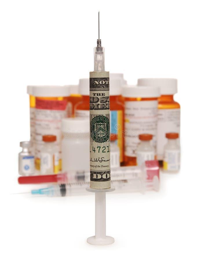 φάρμακα δαπανών στοκ εικόνες με δικαίωμα ελεύθερης χρήσης