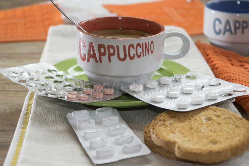 Φάρμακα στο ξύπνημα στοκ εικόνες