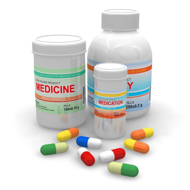 φάρμακα διανυσματική απεικόνιση
