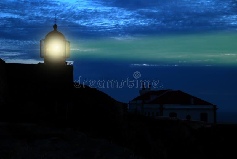 φάρος Άγιος ακρωτηρίων vincent στοκ φωτογραφία με δικαίωμα ελεύθερης χρήσης
