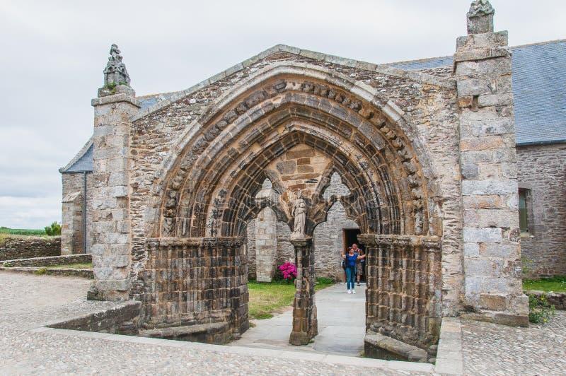 Φάρος Άγιος-Mathieu και πρώην αβαείο σε Pointe Άγιος-Mathieu στοκ εικόνες με δικαίωμα ελεύθερης χρήσης