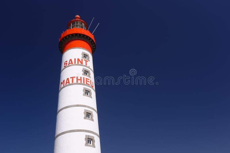 Φάρος Άγιος-Mathieu στοκ φωτογραφία με δικαίωμα ελεύθερης χρήσης