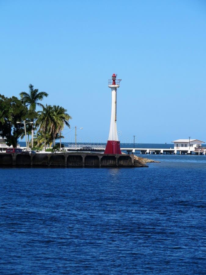 Φάρος ευδαιμονίας βαρώνων στο νησί της Μπελίζ στοκ φωτογραφίες με δικαίωμα ελεύθερης χρήσης