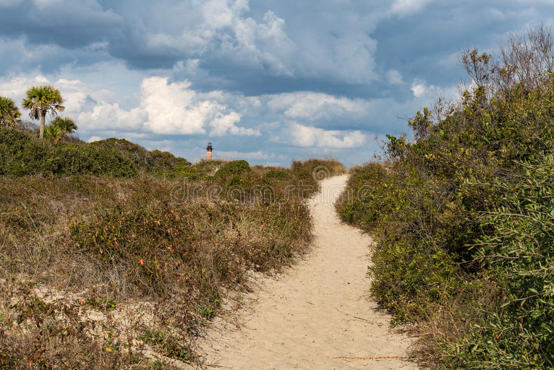 Φάρος νησιών Morris στοκ φωτογραφία με δικαίωμα ελεύθερης χρήσης