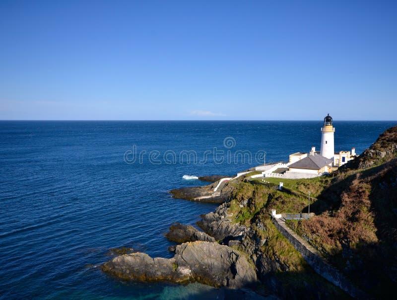 Φάρος Ντάγκλας στο Isle of Man στοκ εικόνες