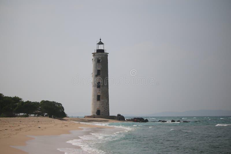 Φάρος, παραλία, στοκ εικόνα με δικαίωμα ελεύθερης χρήσης