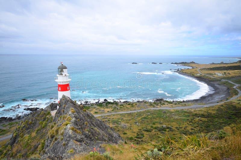 Φάρος στη Νέα Ζηλανδία στοκ φωτογραφίες