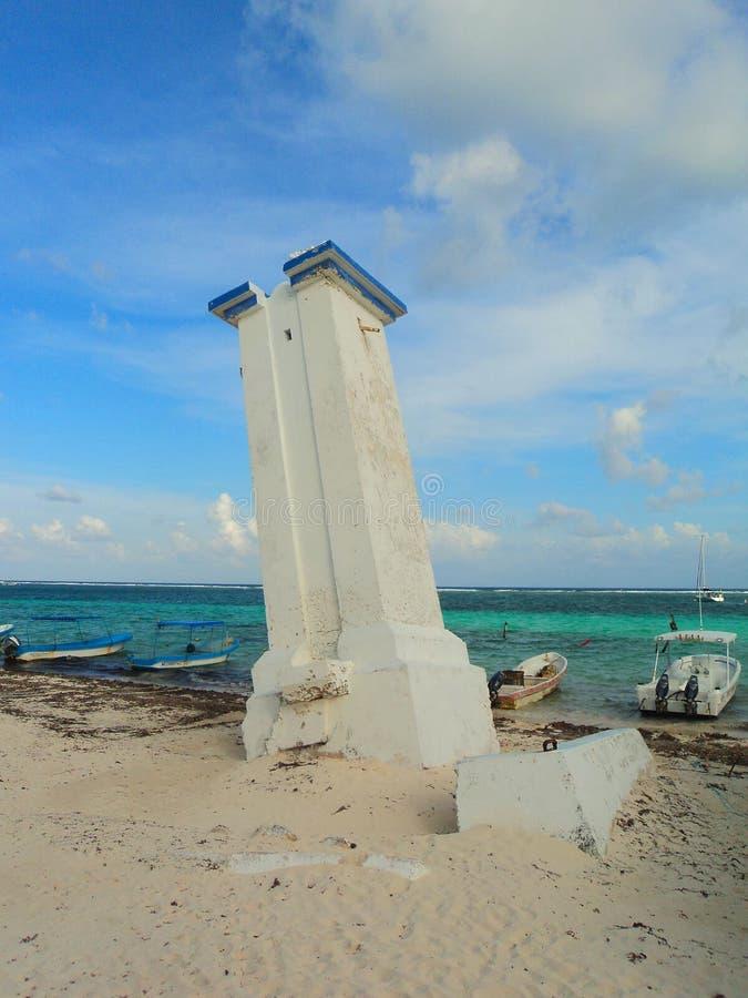 Φάρος του Μεξικού morelos puerto πανοράματος παραλιών στοκ εικόνες με δικαίωμα ελεύθερης χρήσης