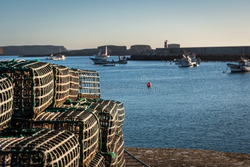 Φάρος ψαράδων διχτυού του ψαρέματος στοκ φωτογραφία με δικαίωμα ελεύθερης χρήσης