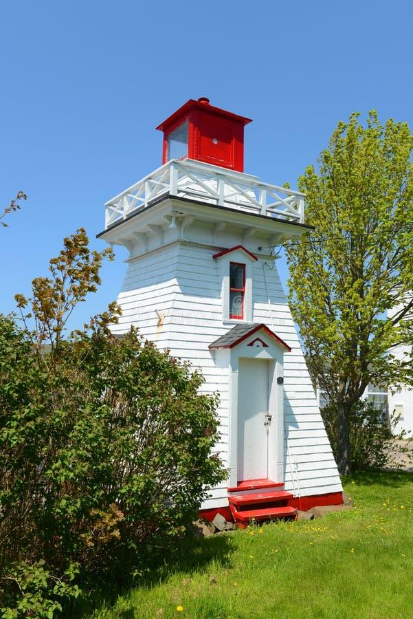 Φάρος Annapolis, Annapolis βασιλικό, NS, Καναδάς στοκ φωτογραφία με δικαίωμα ελεύθερης χρήσης