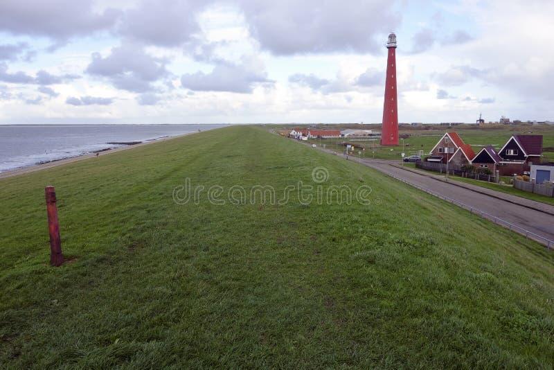 Φάρος Den Helder στοκ φωτογραφίες