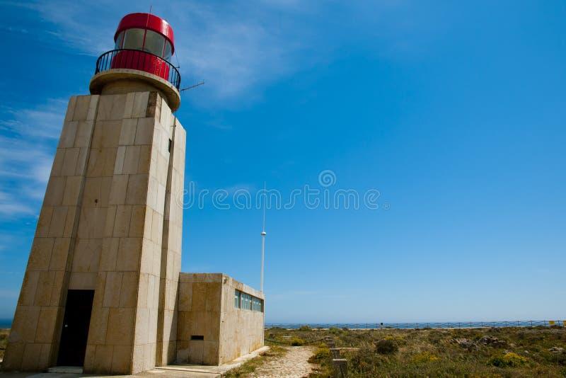 Φάρος Ponta de Sagres στοκ φωτογραφίες