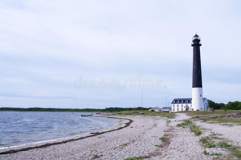 Φάρος Saaremaa στοκ φωτογραφία