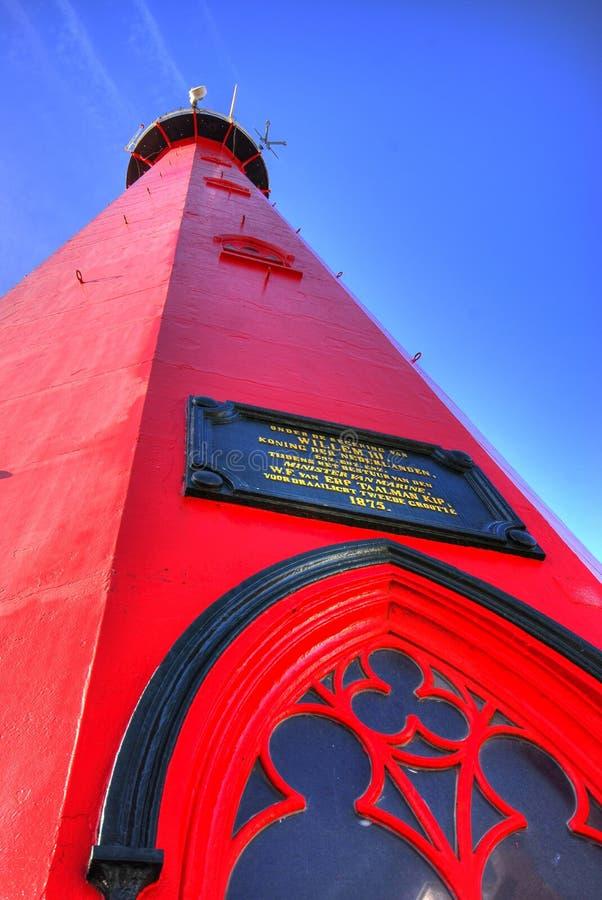 Φάρος Scheveningen στοκ φωτογραφία με δικαίωμα ελεύθερης χρήσης