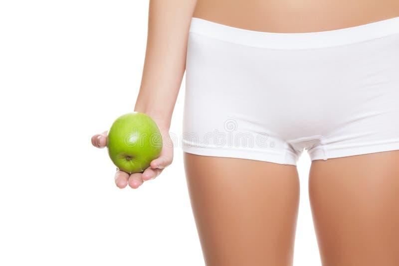 Φάτε healty και έχει το τέλειο δέρμα στοκ εικόνες