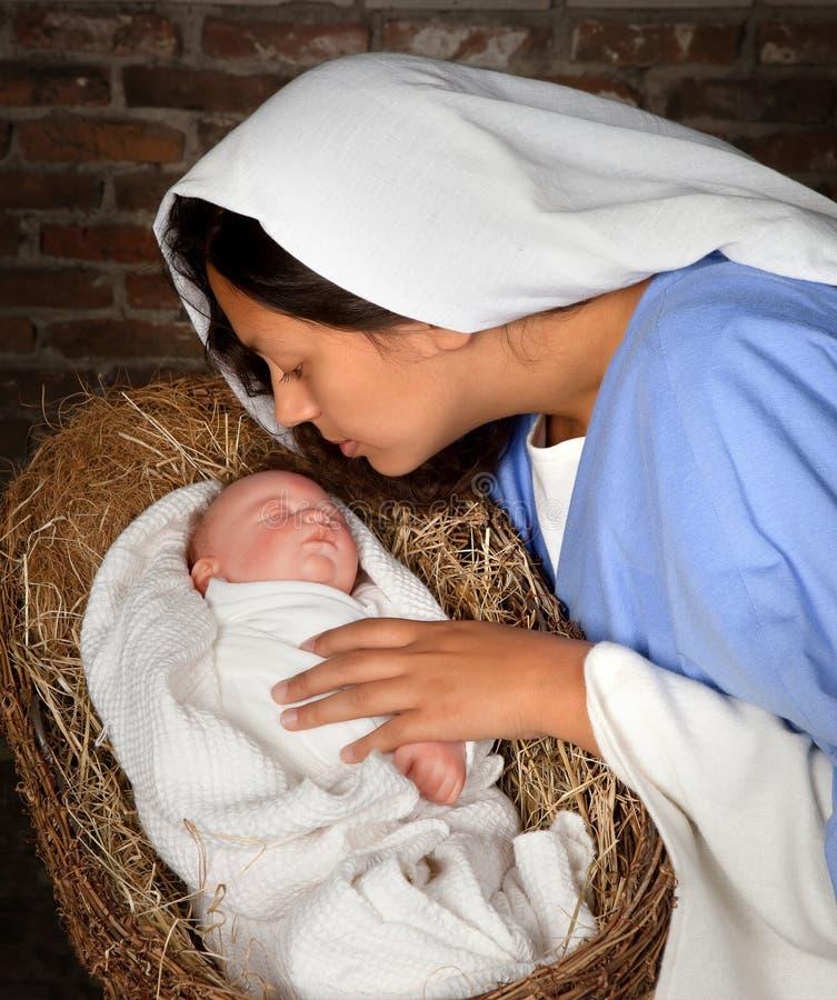 Φάτνη Χριστουγέννων στοκ φωτογραφίες