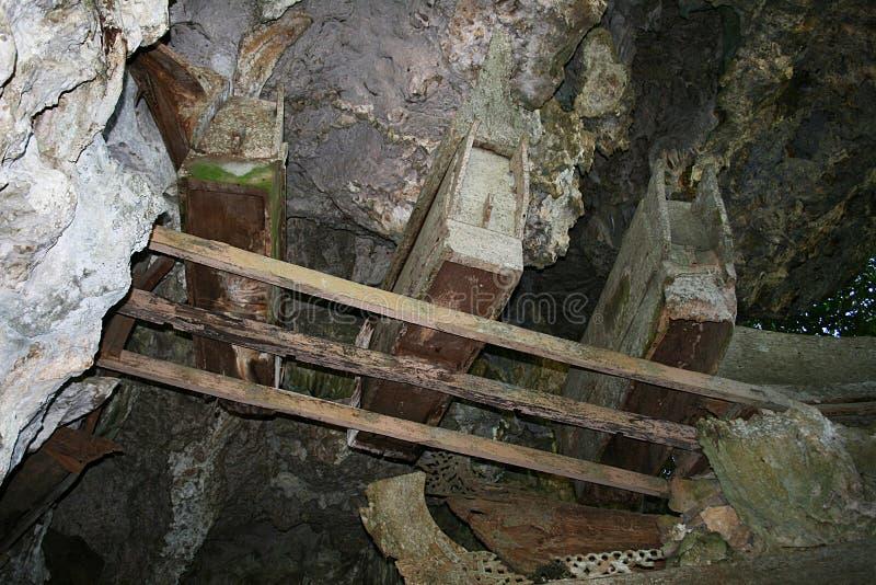 Φέρετρα Toraja στοκ φωτογραφία με δικαίωμα ελεύθερης χρήσης