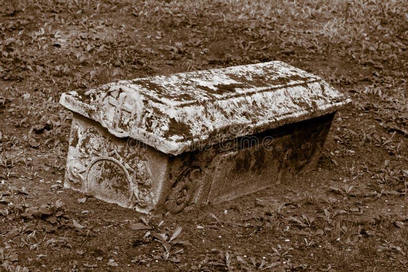 Φέρετρο της πέτρας στοκ εικόνα