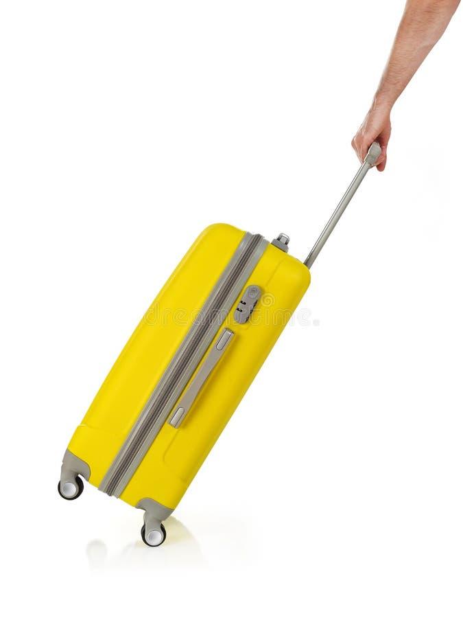 φέρνοντας βαλίτσα στοκ εικόνες με δικαίωμα ελεύθερης χρήσης