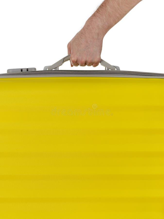 φέρνοντας βαλίτσα στοκ φωτογραφία με δικαίωμα ελεύθερης χρήσης