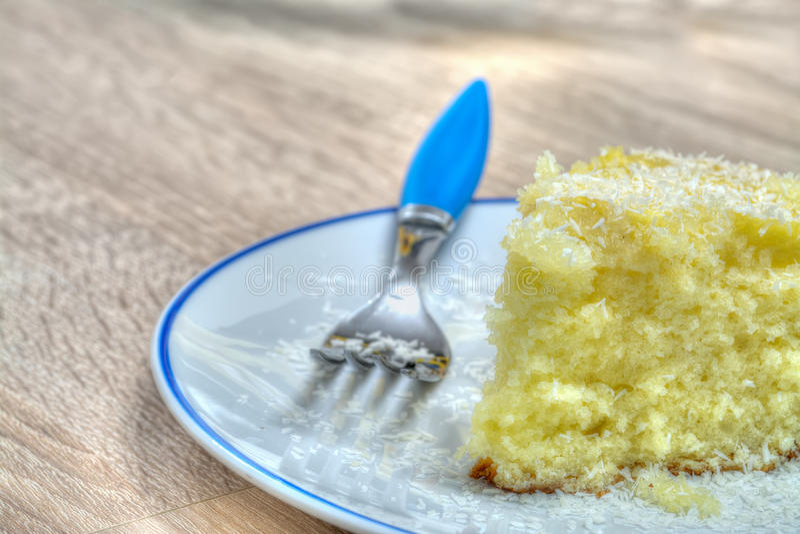 Φέτα κέικ στοκ εικόνες