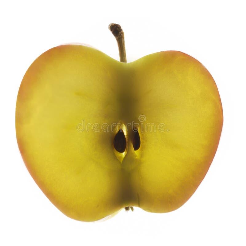 φέτα μήλων στοκ εικόνες