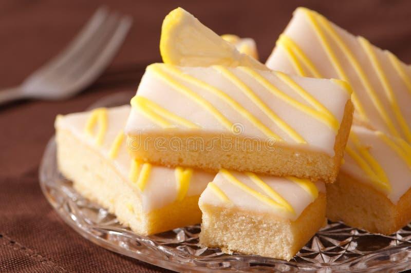 φέτες λεμονιών κέικ στοκ φωτογραφίες με δικαίωμα ελεύθερης χρήσης