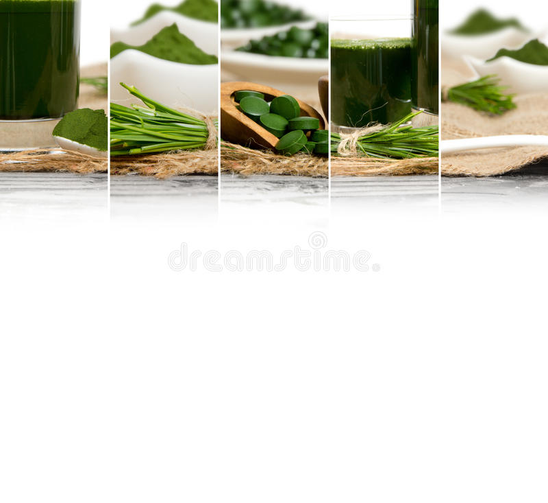 Φέτες μιγμάτων Superfood στοκ φωτογραφία με δικαίωμα ελεύθερης χρήσης