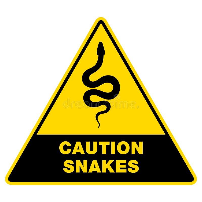 Φίδι σκιαγραφιών σημαδιών Απομονωμένο φίδι εικονιδίων συμβόλων στοκ εικόνα