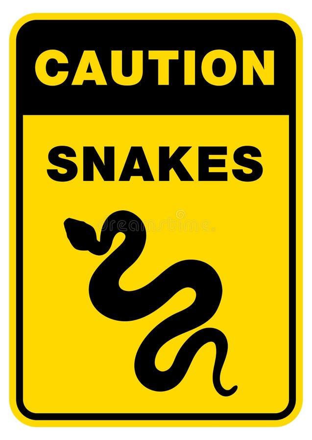 Φίδι σκιαγραφιών σημαδιών Απομονωμένο φίδι εικονιδίων συμβόλων στοκ φωτογραφίες