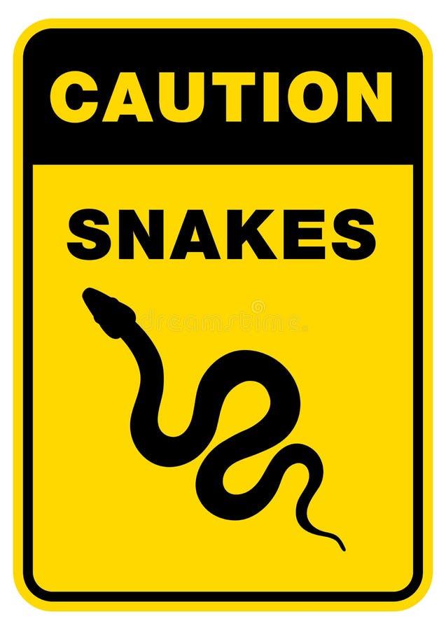 Φίδι σκιαγραφιών σημαδιών Απομονωμένο φίδι εικονιδίων συμβόλων στοκ εικόνες