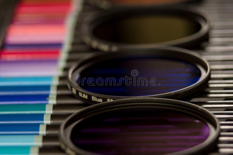 Φίλτρα χρώματος της φωτογραφίας στοκ φωτογραφίες
