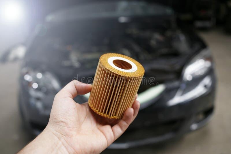 Φίλτρο πετρελαίου αυτοκινήτων στοκ εικόνα με δικαίωμα ελεύθερης χρήσης