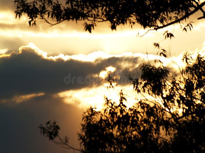 Φαινομενικό ηλιοβασίλεμα στοκ εικόνα