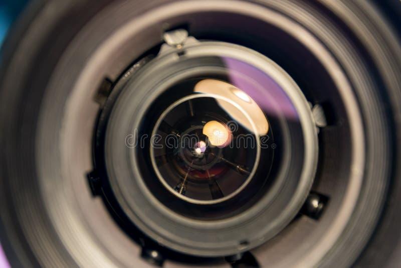 Φακός του στόχου φωτογραφιών στοκ φωτογραφίες