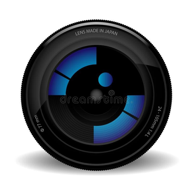 φακός φωτογραφικών μηχανών απεικόνιση αποθεμάτων