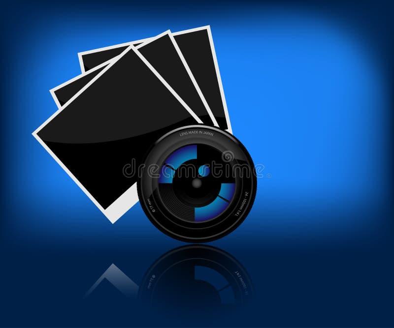 φακός φωτογραφικών μηχανών ελεύθερη απεικόνιση δικαιώματος