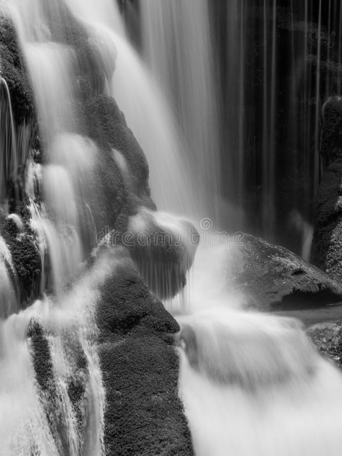 Φαλακρές πτώσεις ποταμών στοκ φωτογραφία