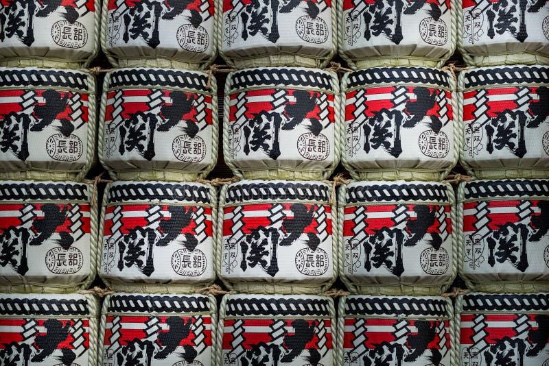 Φανάρια εγγράφου στο ναό Sensoji στοκ εικόνες