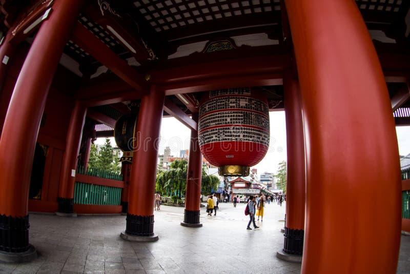 Φανάρια στο ναό ή Asakusa TempleTokyo, Ιαπωνία Sensoji 22 Σεπτεμβρίου 2018 στοκ εικόνες με δικαίωμα ελεύθερης χρήσης