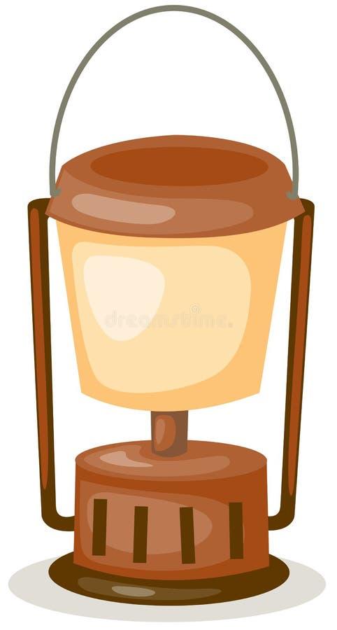 φανάρι κηροζίνης απεικόνιση αποθεμάτων