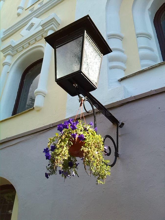 Φανάρι Οδοί του Μινσκ στοκ φωτογραφία