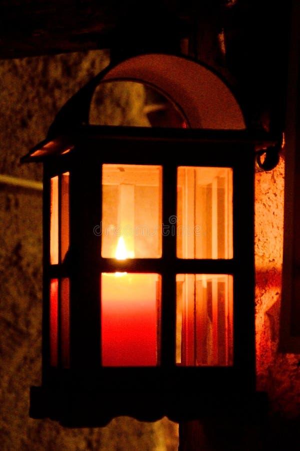 Φανάρι, χρόνος Χριστουγέννων στοκ εικόνα με δικαίωμα ελεύθερης χρήσης