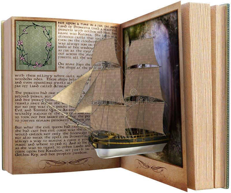 Φαντασία, ανάγνωση, βιβλίο, Storybook που απομονώνεται στοκ φωτογραφία με δικαίωμα ελεύθερης χρήσης