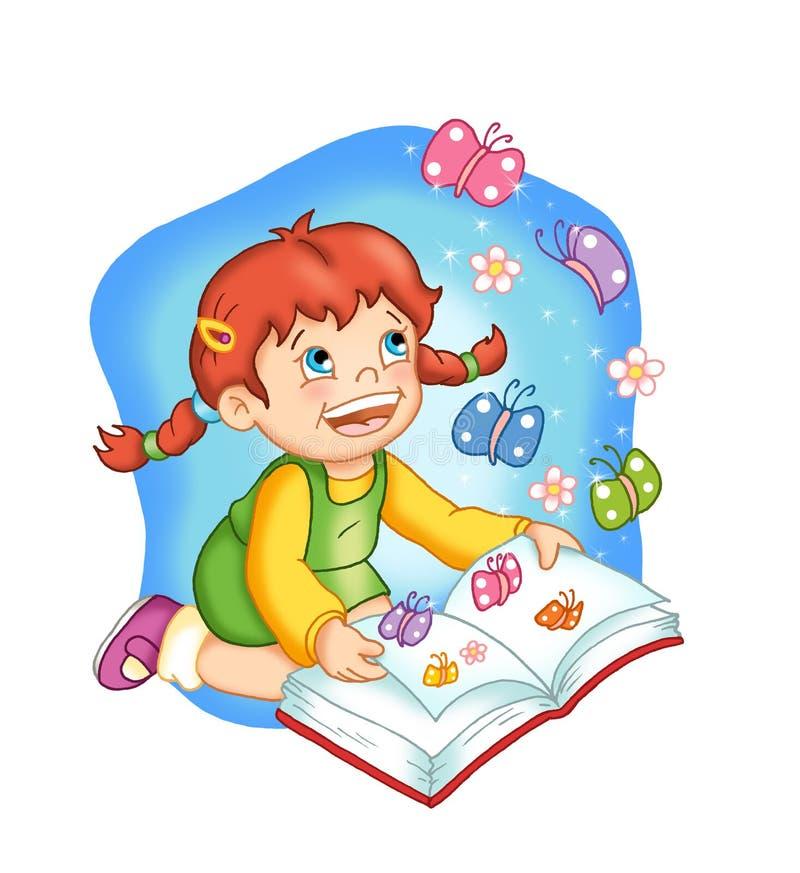 φαντασία βιβλίων διανυσματική απεικόνιση