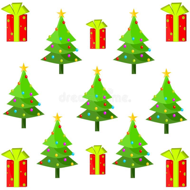 Φαντασία διακοσμήσεων Χριστουγέννων ελεύθερη απεικόνιση δικαιώματος