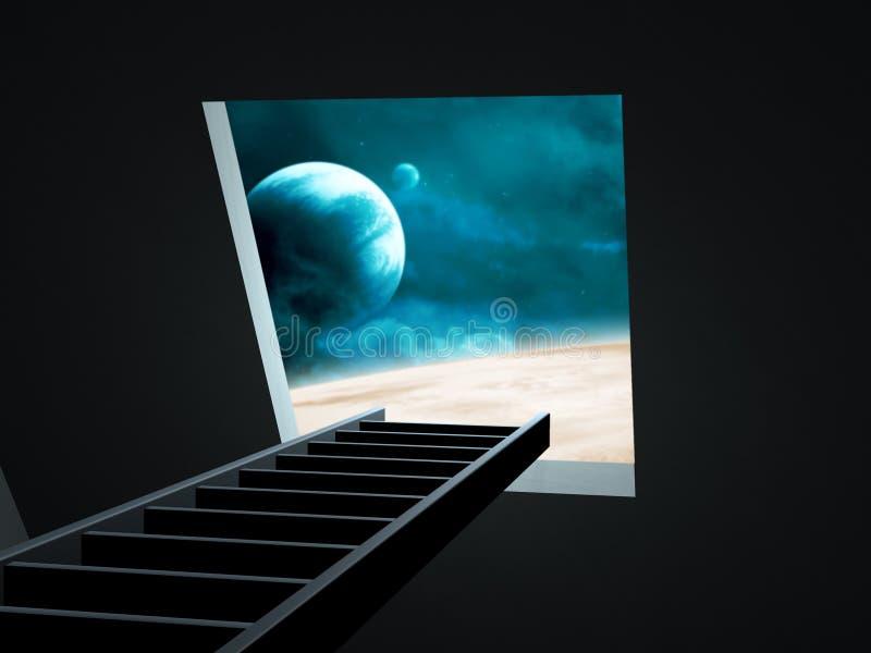 φαντασία στον τρόπο στοκ εικόνα