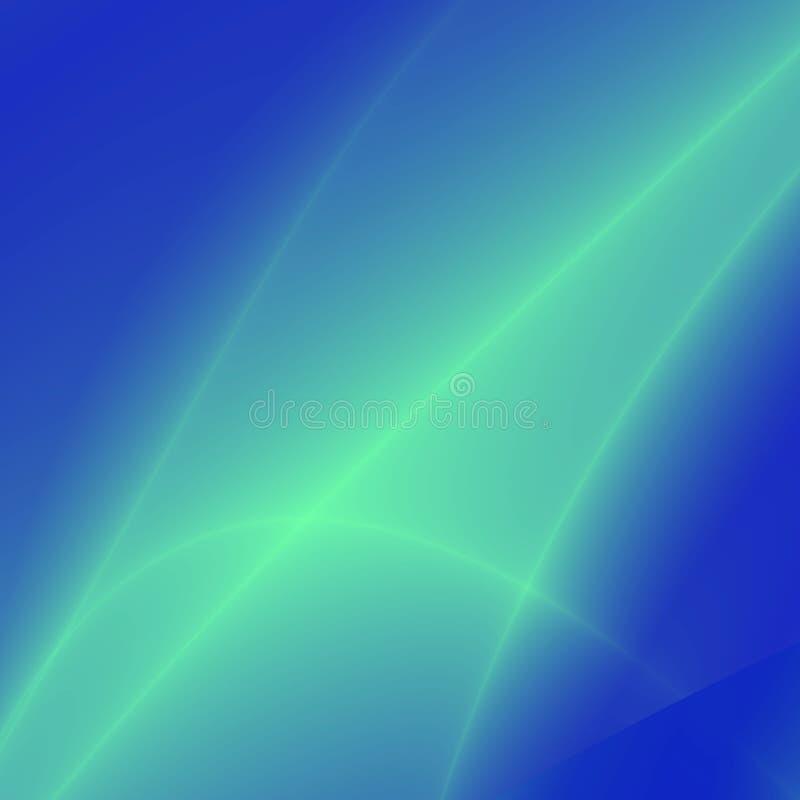 φαντασία χρώματος aqua απεικόνιση αποθεμάτων