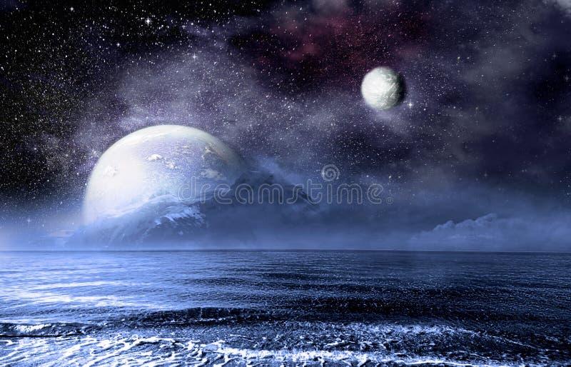 Φαντασίωση στη θάλασσα στοκ εικόνες